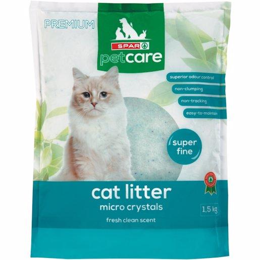 SPAR CAT LITTER M/CRYSTAL 1.5KG