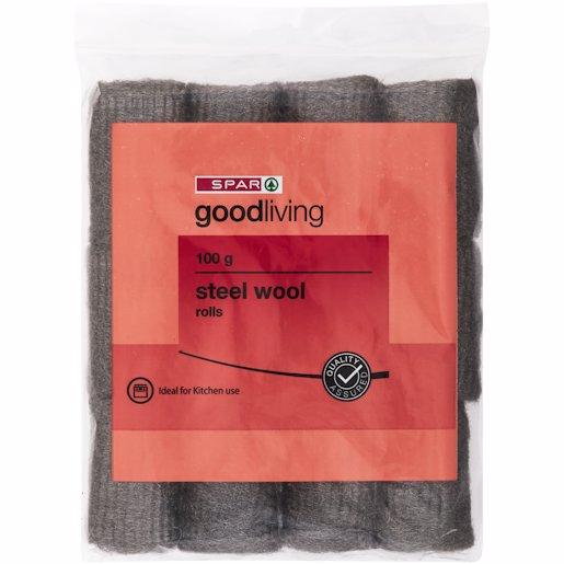 G/L STEEL WOOL ROLLS 100GR