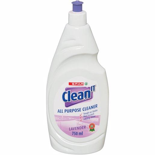 SPAR CLEAN IT LAVENDER 750ML