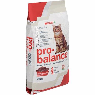 SPAR PRO-BALANCE CAT FOOD GRILLED SALMON 2KG