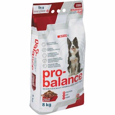SPAR PRO-BALANCED DOG FOOD PRIME RIB 8KG