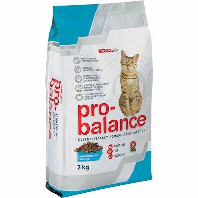 SPAR PRO-BALANCE CAT FOOD SEAFOOD BUFFET 2KG