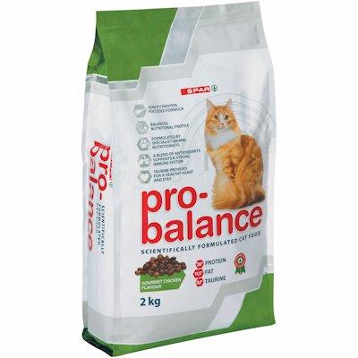 SPAR PRO-BALANCE CAT FOOD GOURMET CHICKEN 2KG