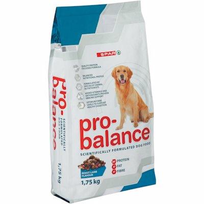 SPAR PRO BALANCE DOG LAMB 1.75K
