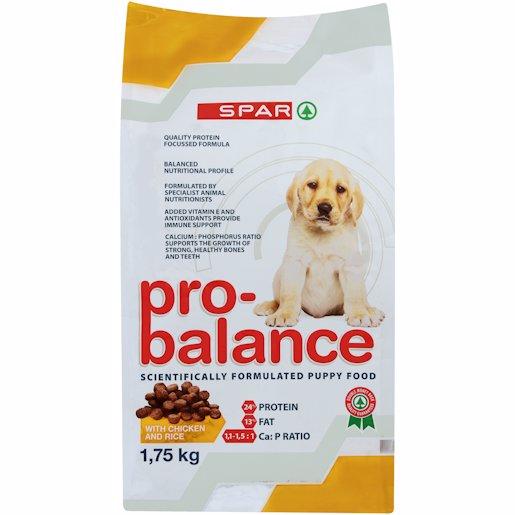 SPAR P/B DOG PUP CHIC/RCE 1.75K