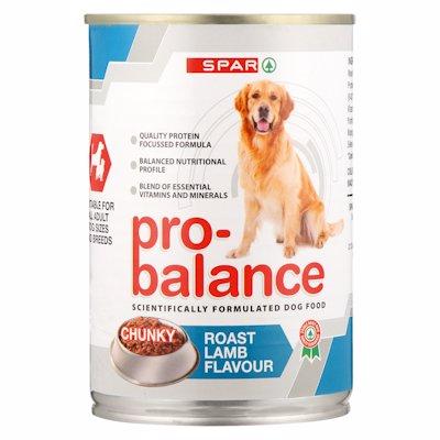 SPAR PRO BAL DOG RST/LAMB 385GR