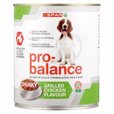 SPAR PRO BAL DOG G/CHIC 775GR