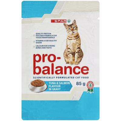 SPAR PRO-BALANCE CAT FOOD SEAFOOD BUFFET 85G