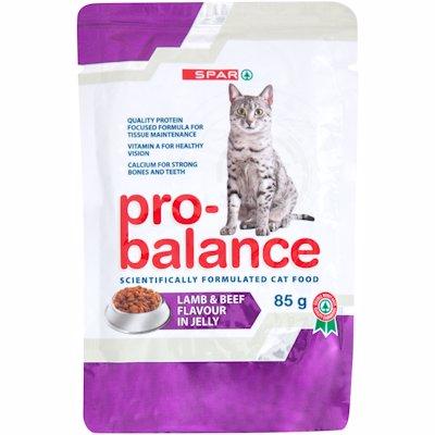 SPAR PRO-BALANCE CAT FOOD LAMB CASSEROLE 85G