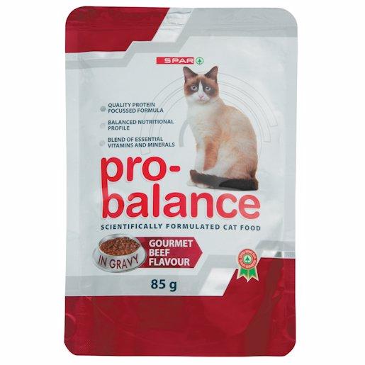 SPAR PRO BAL CAT GOR BEEF 85GR