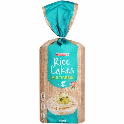 SPAR RICE CAKES M/GRAIN 100GR