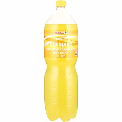 SPAR COCO PINE FLAVOURED SOFT DRINK 2LT