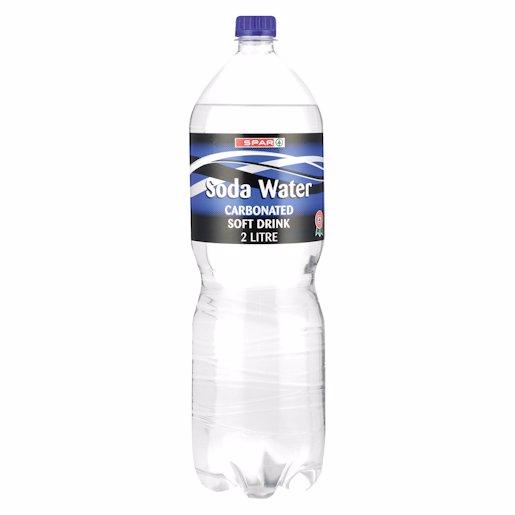 SPAR CSD SODA WATER 2LT