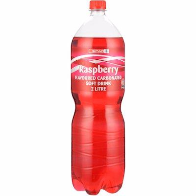 SPAR RASPBERRY FLAVOURED SOFT DRINK 2LT