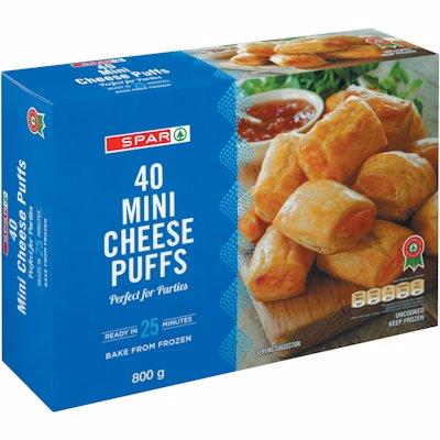 SPAR MINI CHEESE PUFFS 40'S