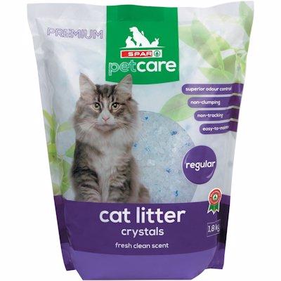 SPAR CAT LITTER CRYSTALS 1.8KG