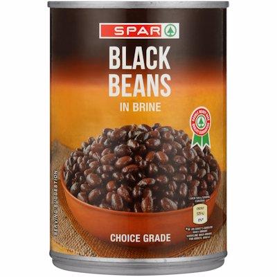 SPAR BEANS BLACK 400GR