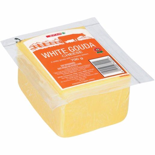 SPAR CHEESE WHITE GOUDA 700GR