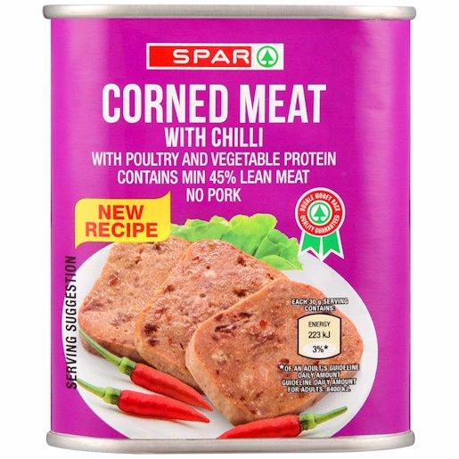 SPAR CORNED MEAT CHILLI 300GR