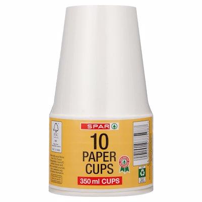 SPAR PAPER CUPS 10'S