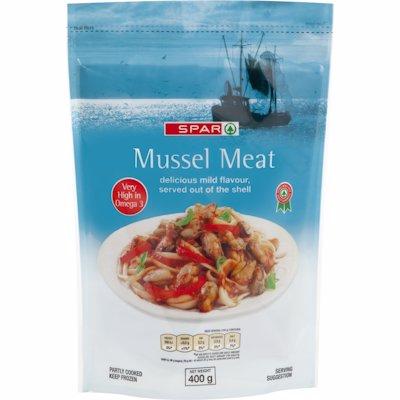 SPAR MUSSEL MEAT 400G