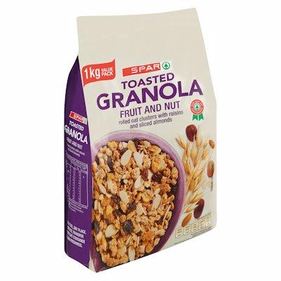 SPAR GRANOLA FRUIT&NUT 1KG