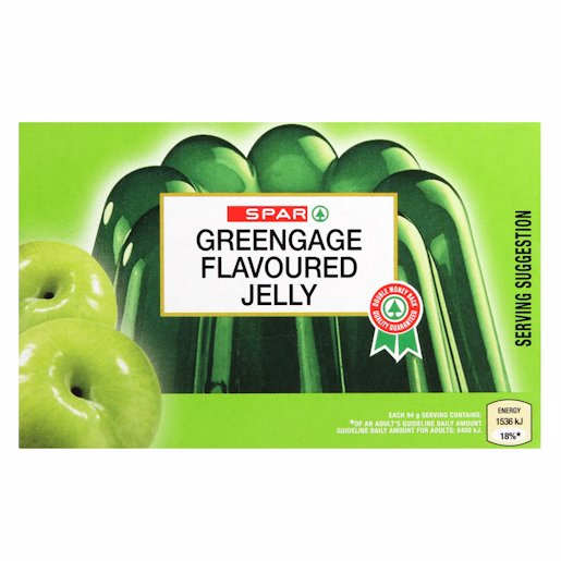 SPAR JELLY GREENGAGE 40GR