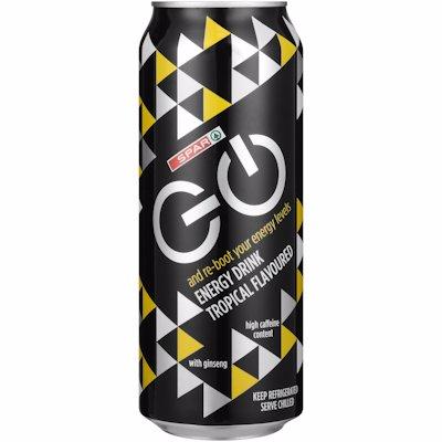 SPAR ENERGY GO DRINK TROP 500ML