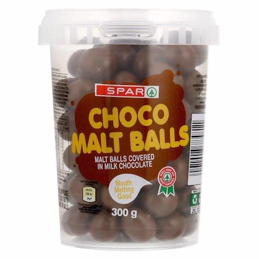 SPAR CHOC MALT BALLS 300GR