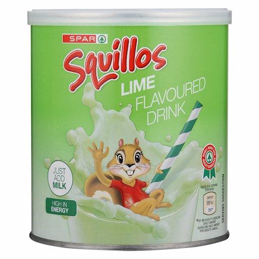 SPAR SQUILLOS M/MOD LIME 500GR