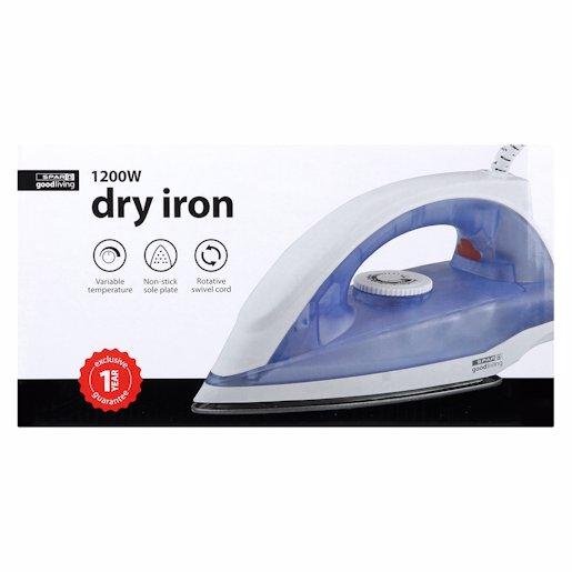 G/L IRON DRY 1200W 1'S