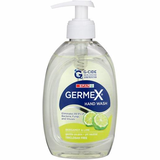 SPAR GERMEX H/WASH B&LIME 250ML