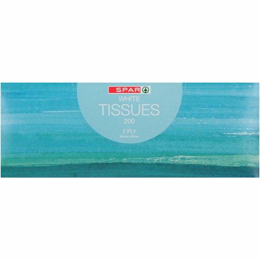 SPAR F/TISSUE WHT OCEAN 200'S