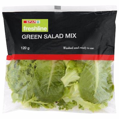 F/L GREEN SALAD MIX 120GR