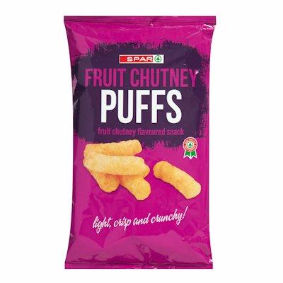SPAR PUFFS FRUIT CHUTNEY 100GR