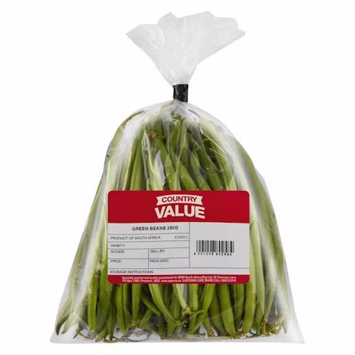 C/VALUE GREEN BEANS 350GR