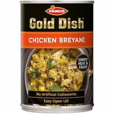 GOLD DISH CHICKEN BREYANI 380G