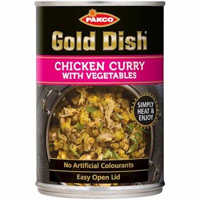 GOLD DISH CHICKEN CURRY 400G