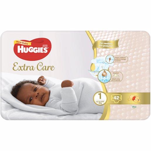 HUGGIES NEW BABY 42'S