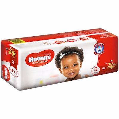 HUGGIES DRY COMFORT VALUE PACK JUN 5 44'S