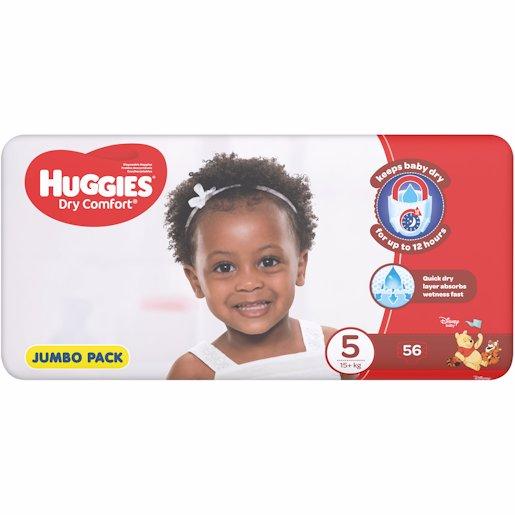 HUGGIES D/COMF JP JUN 5 56'S