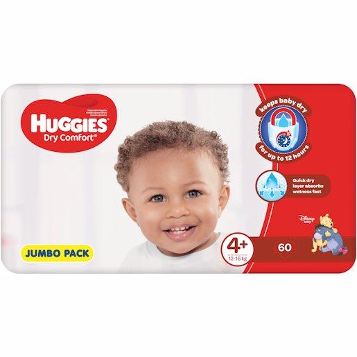 HUGGIES D/COMF JP MAXI+4+ 60'S