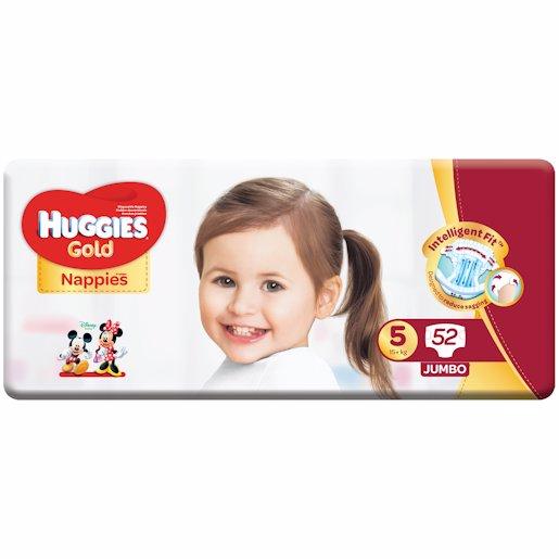 HUGGIES GOLD JP S5 52'S