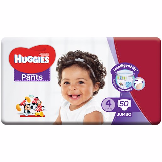 HUGGIES PANTS JP S4 50'S
