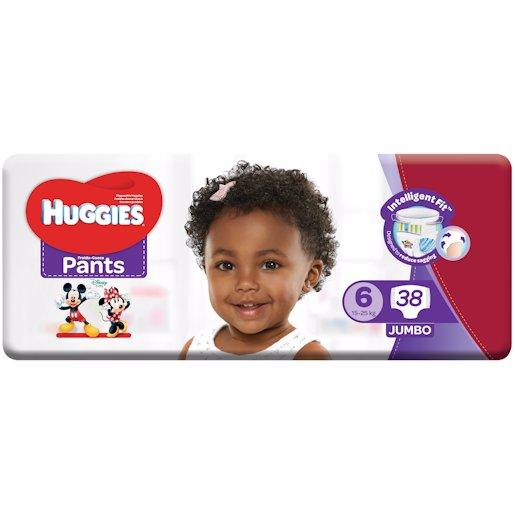 HUGGIES PANTS JP S6 38'S
