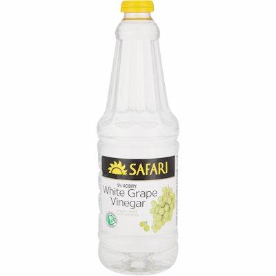 SAFARI GRAPE WHITE VINEGAR 750ML