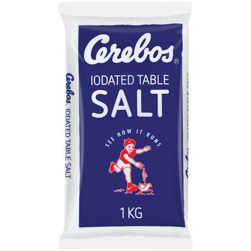 CEREBOS BLUE SALT P/BAG. 1KG