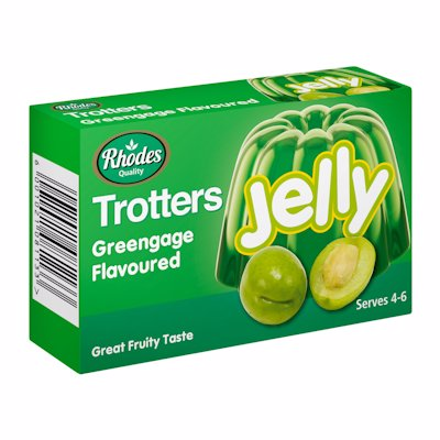 TROTTERS JELLY GREENGAGE FLAVOUR 40G