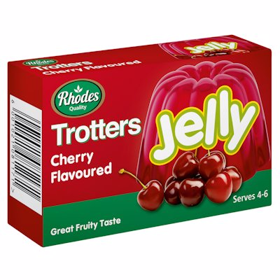 TROTTERS JELLY CHERRY FLAVOUR 40G