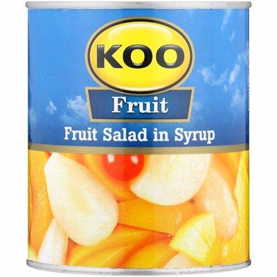 KOO FRUIT SALAD IN SYRUP 825G